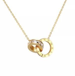 Kette-Necklace-Roemische-Ziffern-Zahlen-Bulgarien-Luxus-Edelstahl-Gold-Numbers