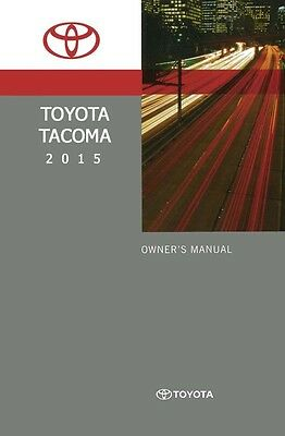 toyota tacoma owner manual user guide reference