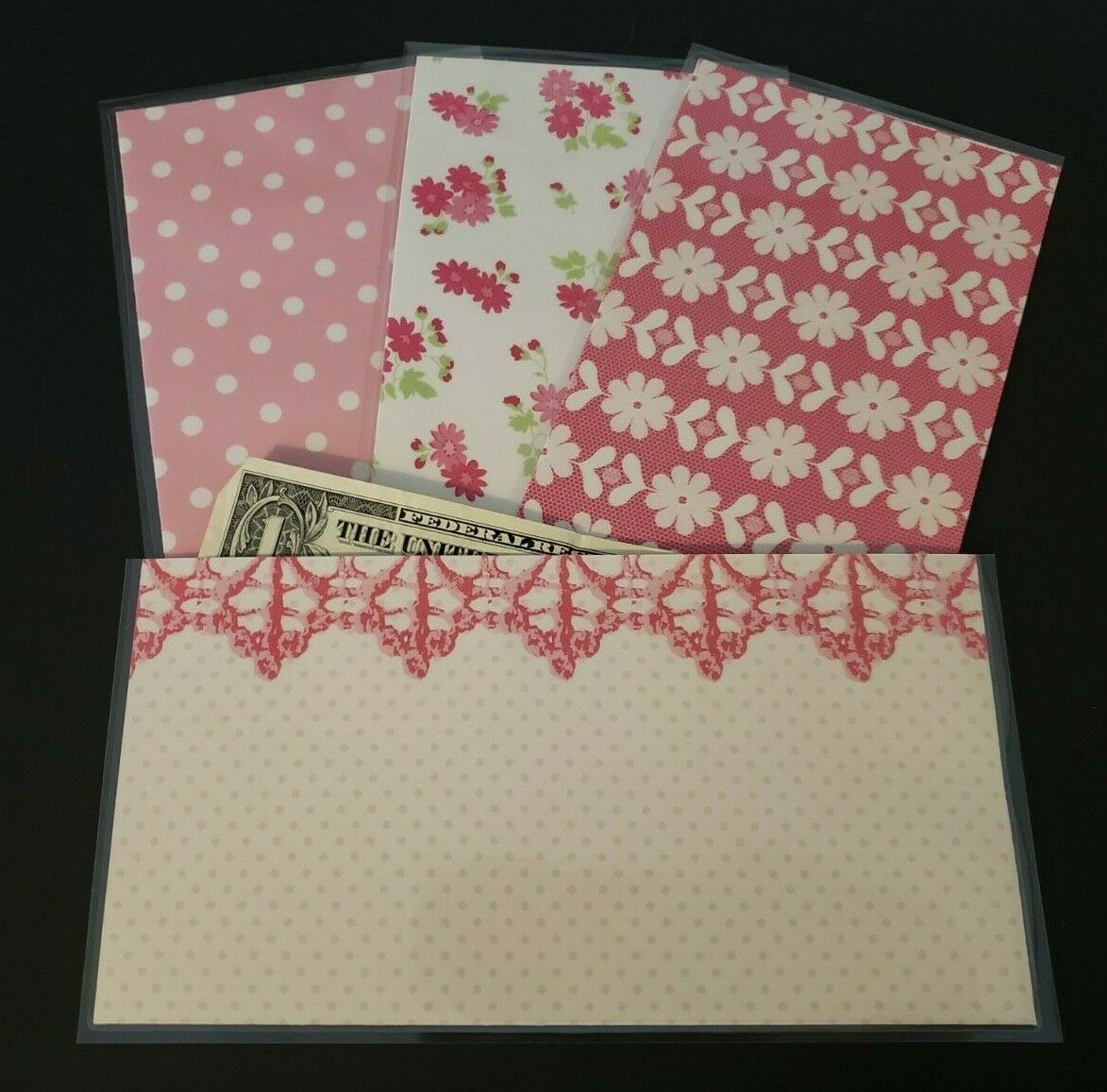 Laminated Cash Envelopes Budget System Dave Ramsey Inspired Budgeting #47 NEW