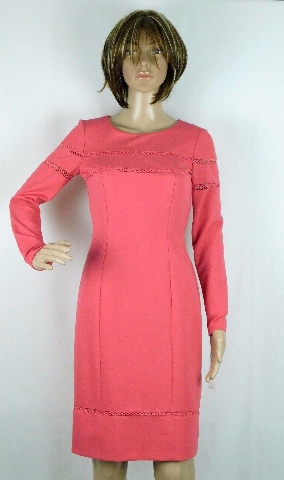 NWT Antonio Melani Liya Petal Rosa Sheath Dress Größe 0 () NEW