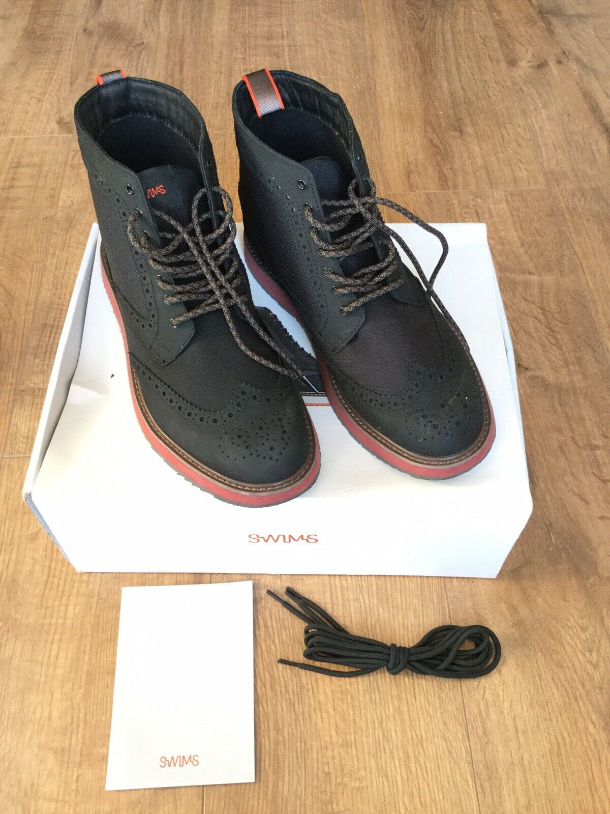 Swims Men's Stiefel - Größe UK 6 -   Worn Once Indoors