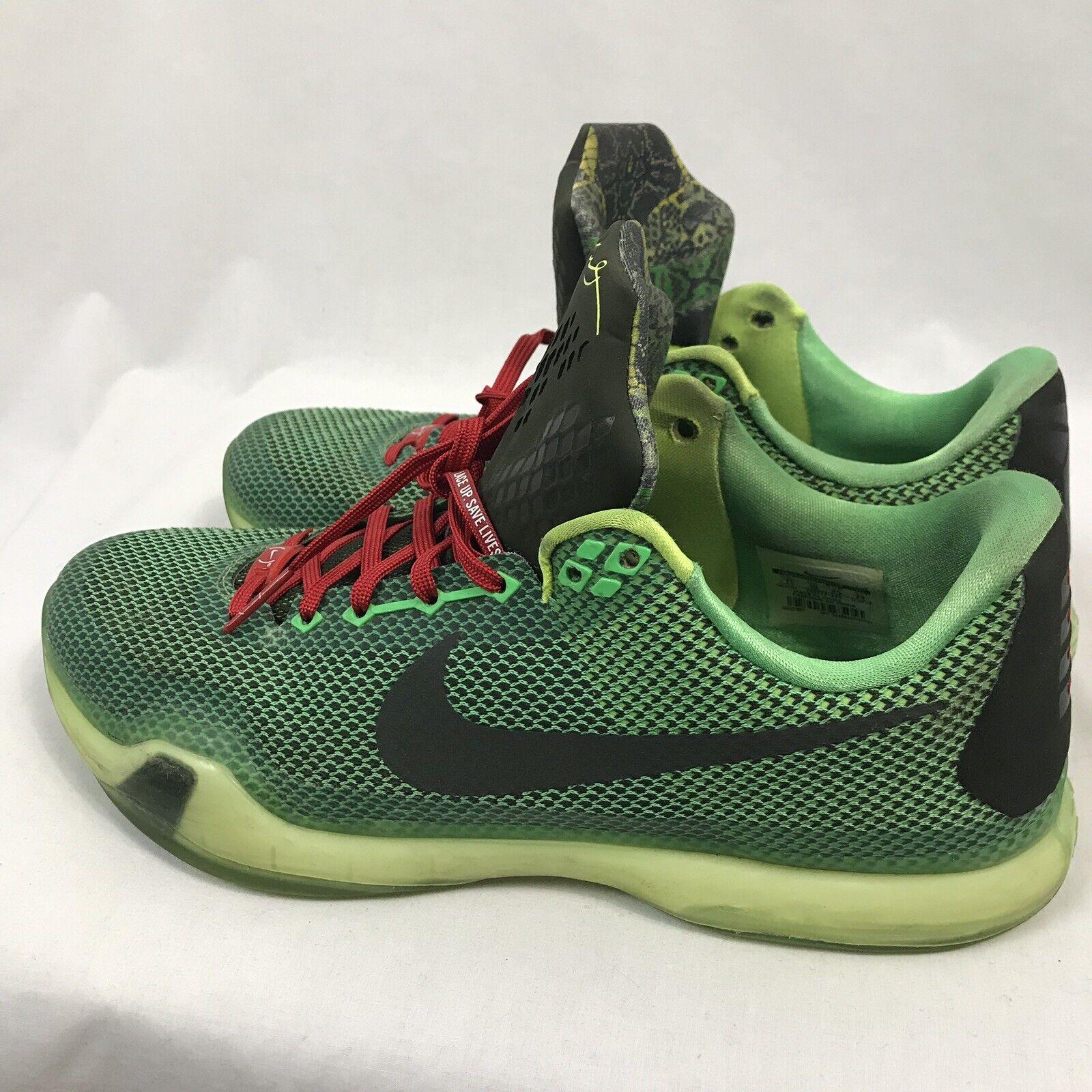Nike Kobe 10  Vino  Zapatillas Baloncesto, Hombre Talla 11 , 705317-333
