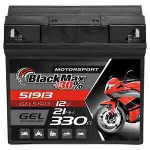 GEL Motorradbatterie 12V 21Ah Batterie 51913 BMW R850 R1100 R1150 K1200 ABS G19