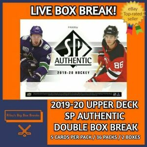 2019-20-SP-AUTHENTIC-x2-DOUBLE-BOX-BREAK-51-PICK-YOUR-OWN-TEAM