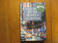 VALERIE ANN LEFF  Signed Book (BETTER HOMES & HUSBANDS-2004 1st Edition Hardback