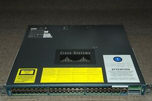 Cisco-WS-C4948-10GE-E-Catalyst-48-Gig-Port-L3-Switch-w-Dual-PSU-1YrWty-TaxInv