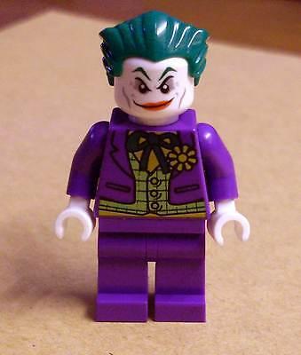 Lego Superhelden Batman Figur The Joker Lime Vest Weste lila Neu