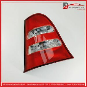 MERCEDES BENZ A-KLASSE W168 Rückleuchte links mit Lampenträger 1688202764