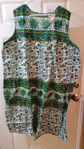 La Cera 3X Sleeveless Sun Dress