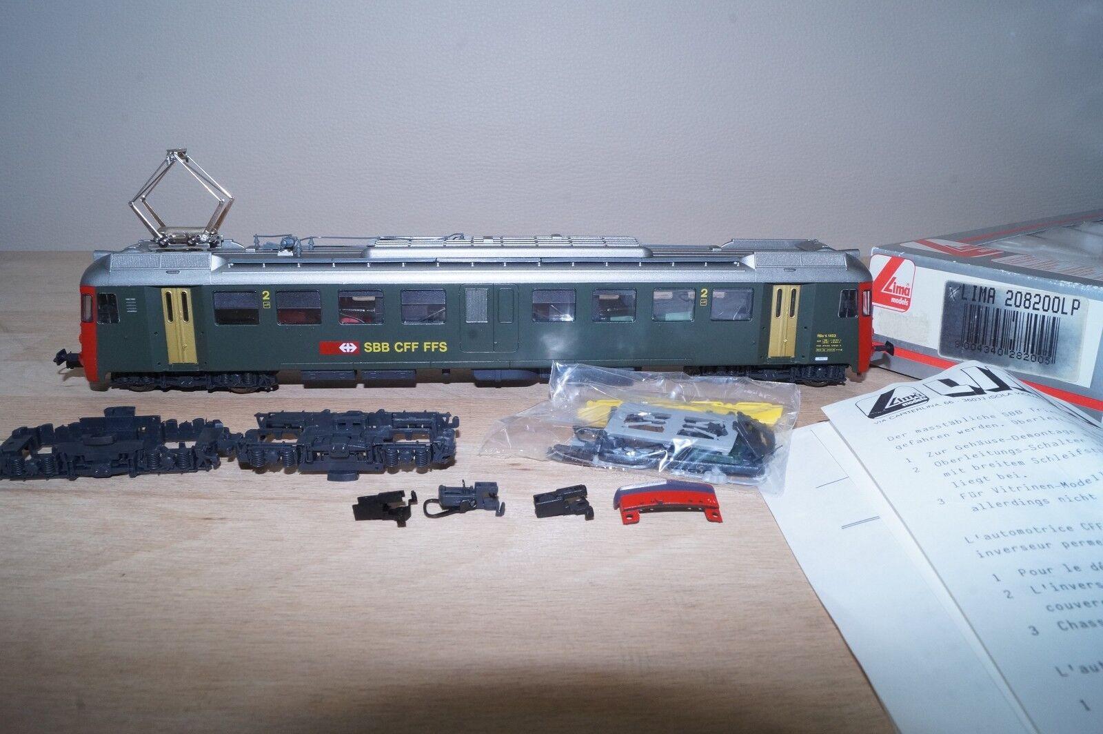 Nuevo diseño del locomotor eléctrico rbe 4     4 1403 sbb de Lima. a74