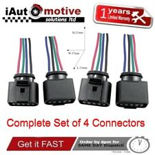 4x Ignition Coil Connector Repair Harness Plug for AUDI VW