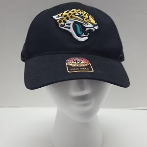 separation shoes 52d66 4ebe2 Image is loading 47-Brand-NFL-Jacksonville-Jaguars-Black-Hat-Strapback-