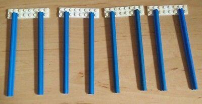 LEGO System Train Rails Blue Curved 4.5V Track 151//157//3229//3230//3034 Eisenbahn