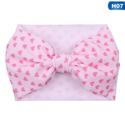 Kids Girl Baby Headband Infant US Newborn Bow-knot Hair Band Accessories Plsei