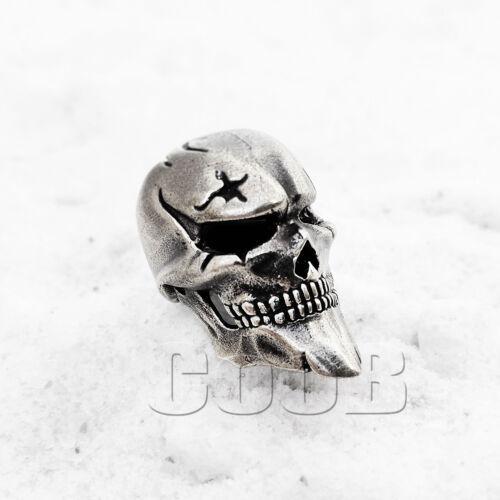 EDC Bead Beads Charm for Paracord Bracelet Celtic Zombie Skull Pirate Blackbeard
