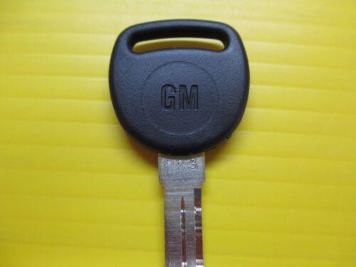 NEW GM Logo PK3 Transponder Chip Key Blank 75 GRV B99 B99-PT 690898 SEALED