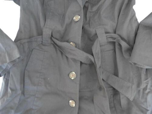 Sheego Damen Parka Trenchcoat Jacke Mantel Gr 133 40 bis 52 schwarz