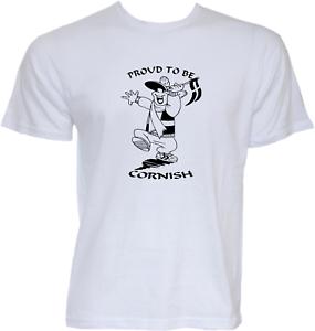 Proud To Be Cornish T Shirt Cornwall Kernow St Pirans Gift Idea For Cornishman
