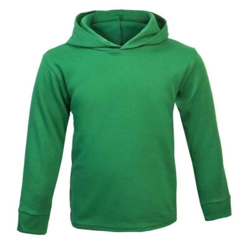 Plain Emerald Green Baby Hoodie Jumper 100/%  Cotton Baby Boy Baby Girl