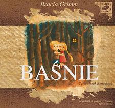 Bajki dla dzieci Bracia Grimm Baśnie CD mp3 polska, in polish for kids poland