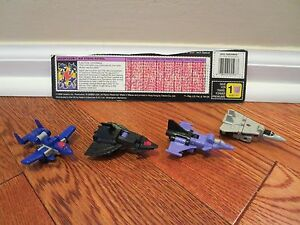 Transformers G1 1989 AIR STRIKE PATROL figure set micromaster hasbro