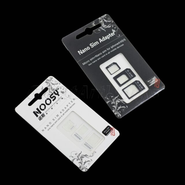 3-in-1 Nano zu Micro & Standard-SIM-Karten-Adapter für iPhone 5