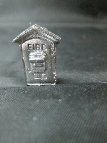 Dollhouse Miniature Unfinished Metal Fire Alarm Box