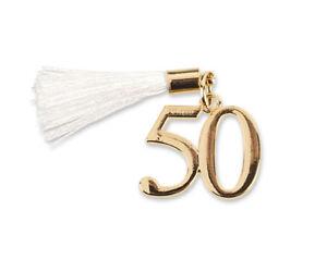 Dettagli Su Bomboniera Ciondolo 50 Anni Matrimonio Cinquantesimo Anniversario Nozze D Oro