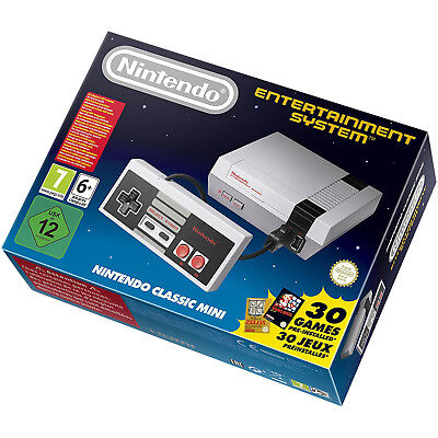 Nintendo Mini NES Classic Edition with Extra Controller International Version