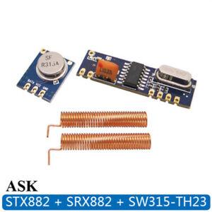Wireless-Transmitter-SRX882-STX882-Module-Kit-2Pcs-Copper-Spring-Antenna-Cute