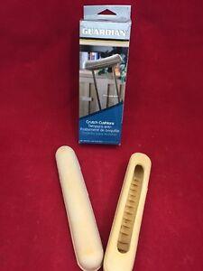 ONE-NEW-PAIR-GUARDIAN-Crutch-Cushions-Durable-Beige-Tan-Rubber-13