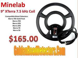 Details About Minelab X Terra 9 Round 75 KHz Metal Detecting Coil