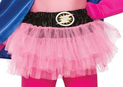 Be Your Own Hero Tutu Superhero Halloween Child Costume Accessory 6 COLORS
