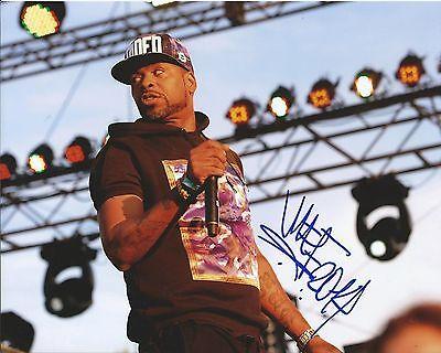 wu Tang Clan, Redman, Busta Rhymes Helpful Method Man Signed 8x10 Photo Proof