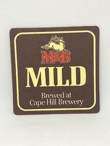 Vintage-M-amp-B-Mild-Cape-Hill-Brewery-Beer-Coaster-Bar-Decoration-Man-Cave