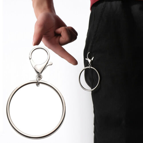 Street Big Ring Key Chain Rock Punk Trousers Hipster Pant HipHop Accessories