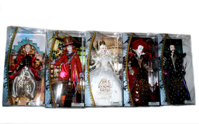 Disney Alice Through The Looking Glass Film Collection Doll Red Queen Iracebeth For
