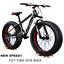 "thumbnail 1 - Mountain Bike/Bicycle NEW SPEED® Men/Women Fat Tire 26""MTB Frame Full Suspension"