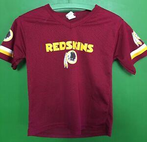 J589-95-NFL-Washington-Redskins-Franklin-Mesh-Jersey-Top-Youth-Medium-10-12
