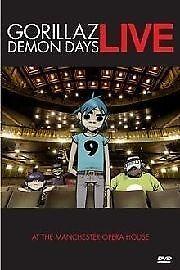 1 of 1 - Gorillaz - Demon Days Live (DVD, 2006)*R4*Terrific Condition*Inc Booklet