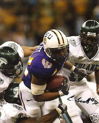 Charles Scott Lsu Tigers Signed 8x10 Photo W/coa Sports Mem, Cards & Fan Shop