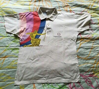 Marchio Popolare Sergio Tacchini Pete Sampras Wimbledon Anni 90' Tennis Vintage Polo Jersey Rare Vendendo Bene In Tutto Il Mondo