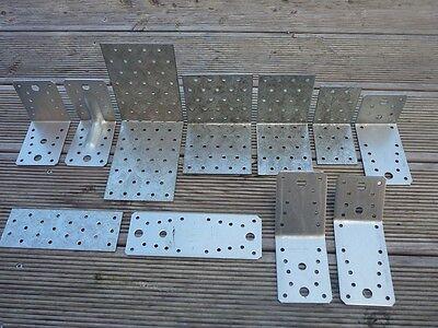 Lochplatten 100X200X2,0 mm Holzverbinder Winkel Lochbleche Nagelplatten 50 Stück