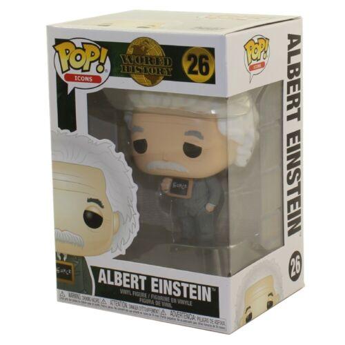 ALBERT EINSTEIN #26 New in Box Icons Vinyl Figure Funko POP