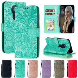 Pour-Nokia-5-3-2-3-1-3-7-2-6-2-dentelle-Wallet-Flip-Stand-Cuir-Telephone-Etui-Housse