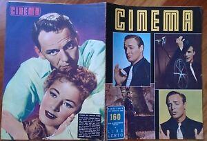 Cinema-1956-n-160-Marilyn-Sinatra-Brando-De-Mille-Magnani-De-Sica-Oliver-Hayward