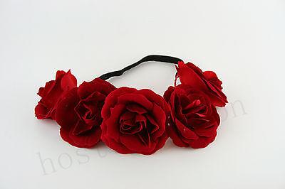 NEW Summer fashion BoHo  Floral Flower  headband hair Garland for Wedding Party