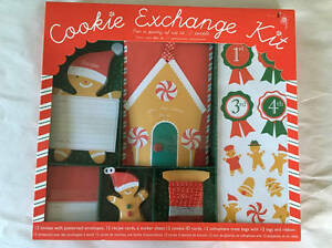 Details About Meri Meri Cookie Exchange Kit Christmas Holiday Baking Party Of 12 New