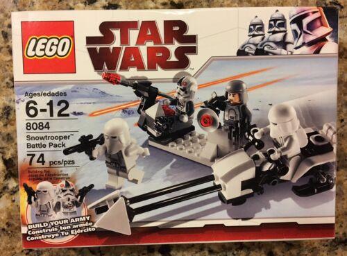 Star Wars Lego 8084 Snowtrooper Battle Pack  NEW MIB MISB SEALED