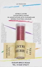 Sugarflair Sherry Lustre Dust Powder 7ml Edible Sparkly Food Colour Tint
